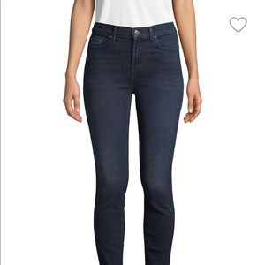 7 For All Mankind Gwenevere HighWaist Ankle Skinny